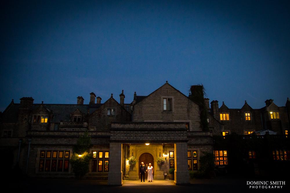 Night photo at South Lodge Hotel