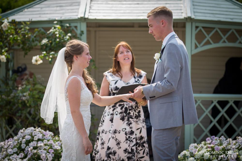 Wedding Ceremony at Wadhurst Castle