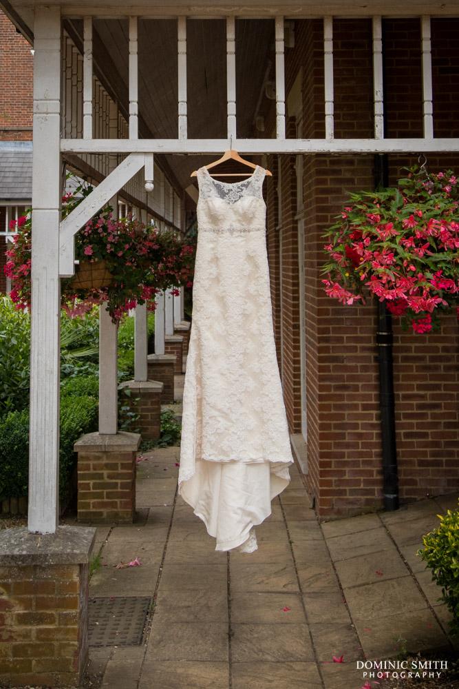 Wedding Dress taken at Coulsdon Manor