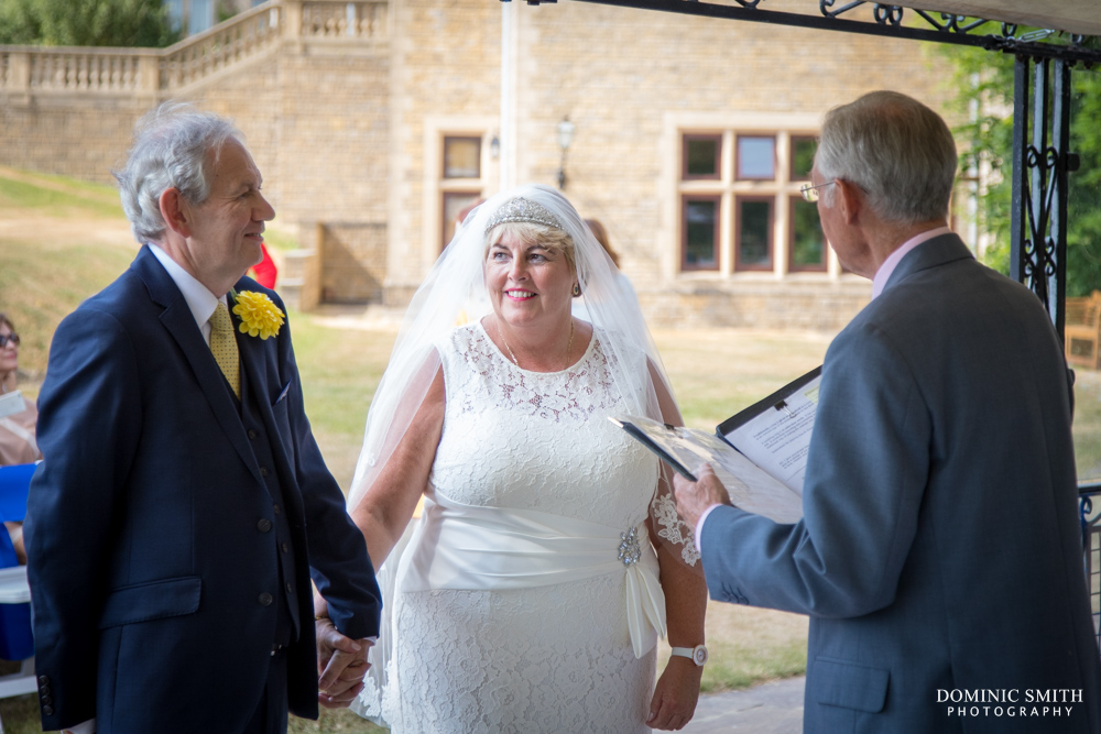 Wedding ceremony at South Lodge Hotel