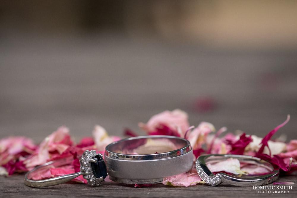 Wedding ring photo taken at Coulsdon Manor