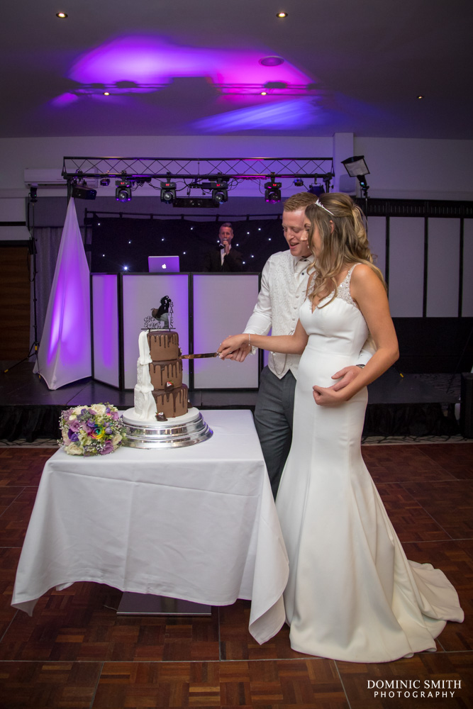 Cake Cutting at the Crowne Plaza Felbridge 1