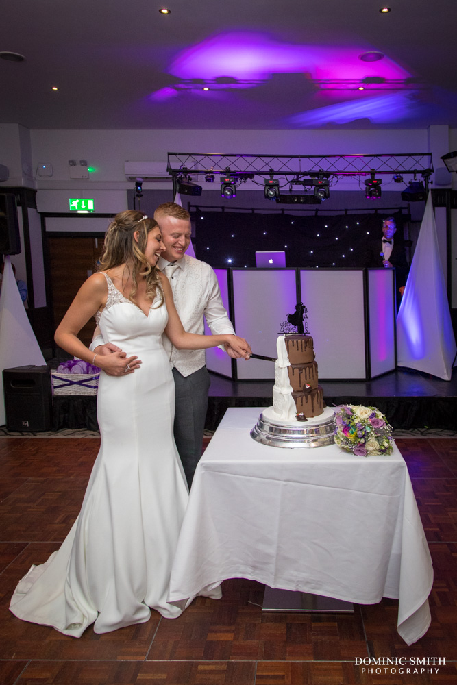 Cake Cutting at the Crowne Plaza Felbridge 2