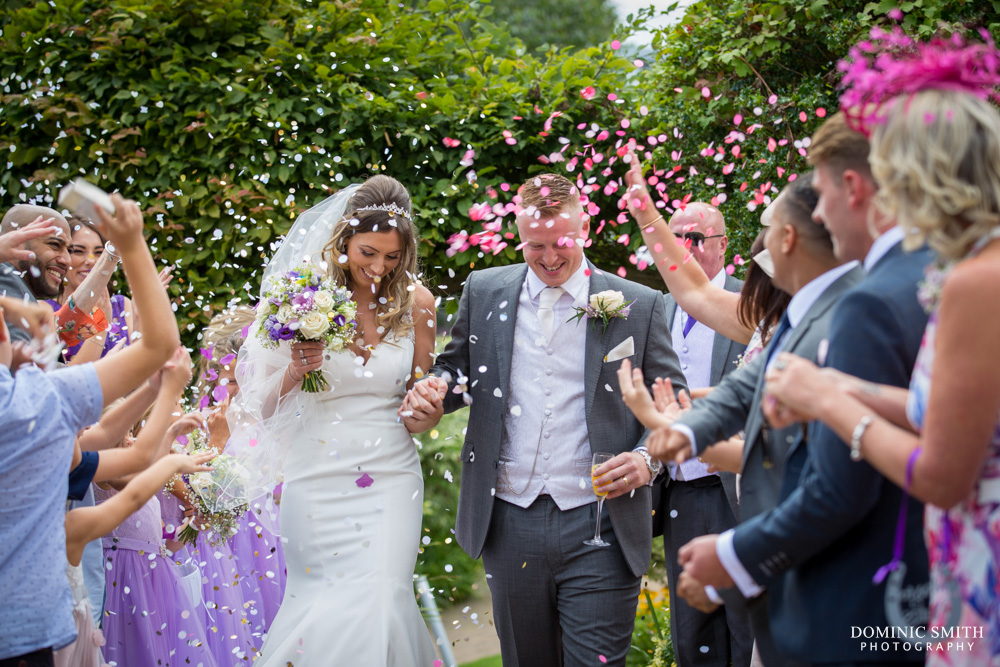 Confetti Photo at Crowne Plaza Felbridge