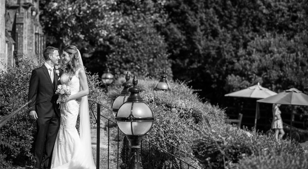 Couple photo at Nutfield Priory