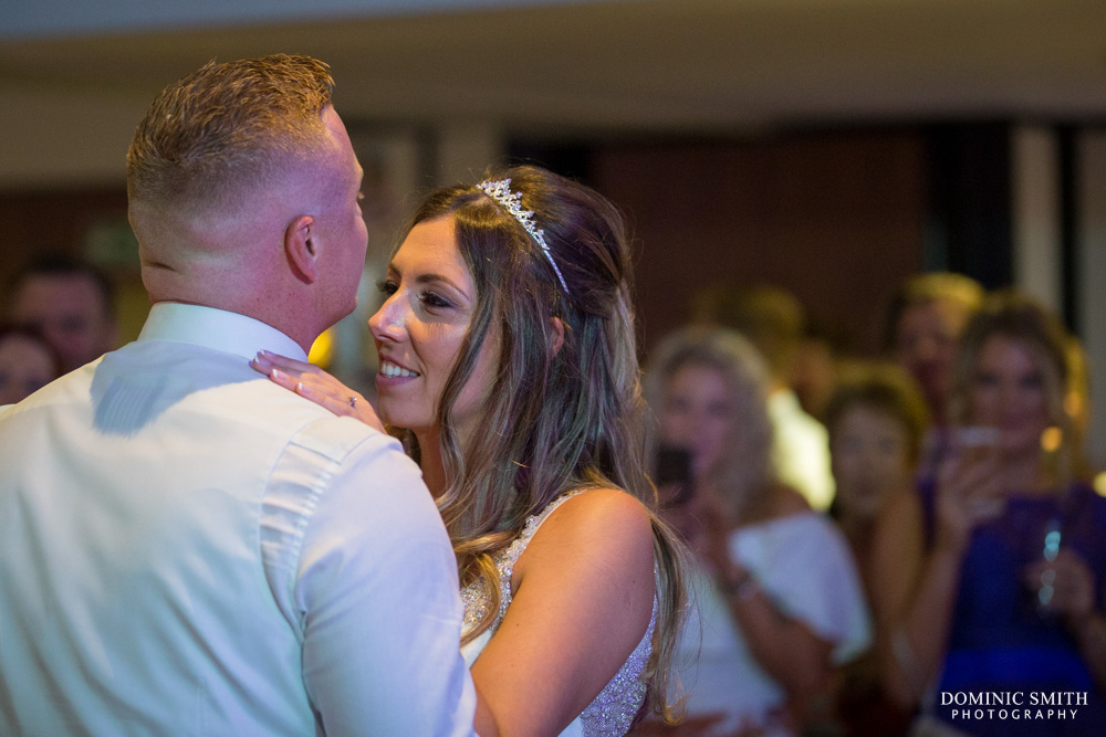 First Dance at Crowne Plaza Felbridge 2