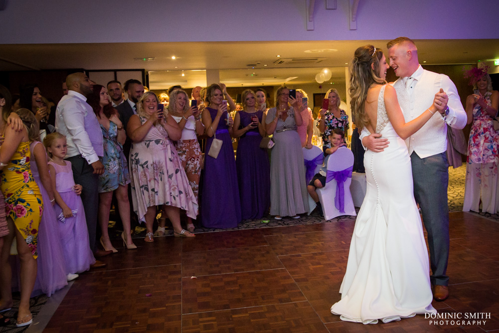 First Dance at Crowne Plaza Felbridge