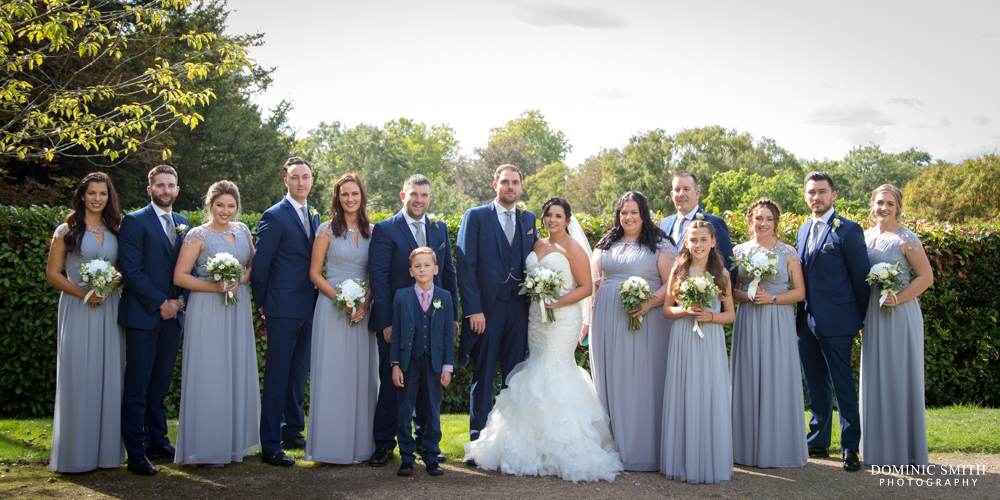 Bridal Party at The Mansion Leatherhead
