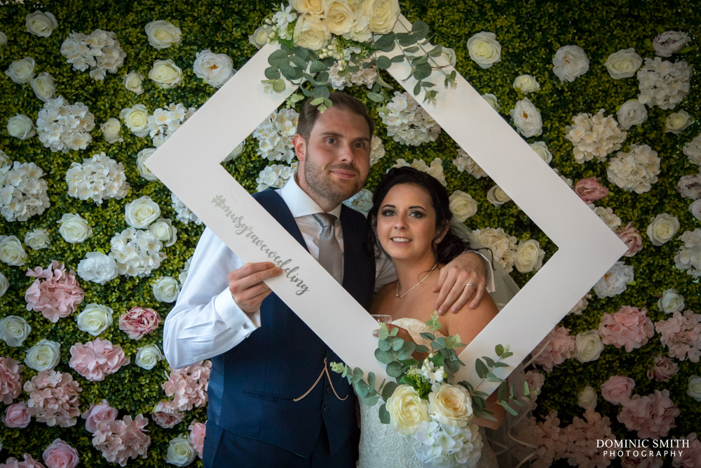 Bride and Groom at Hookhouse Farm 2