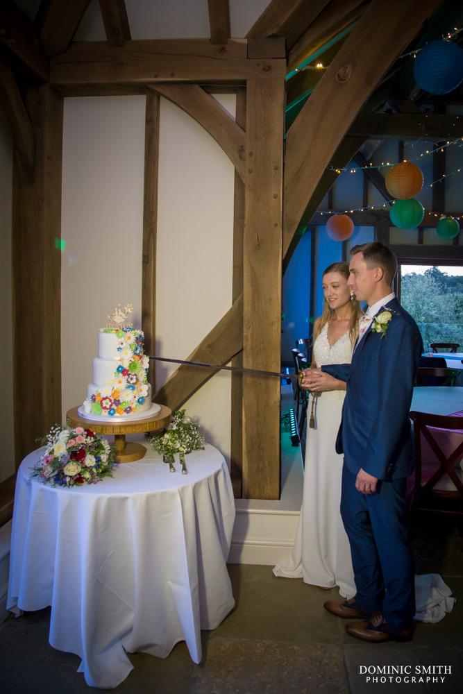 Cake Cutting at Brookfield Barn