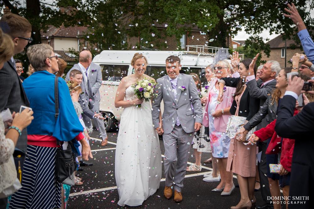 Confetti Photo at Scaynes Hill Millennium Centre
