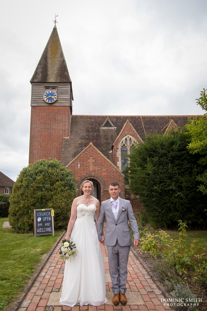 Couple photo at St Augustines Church 3