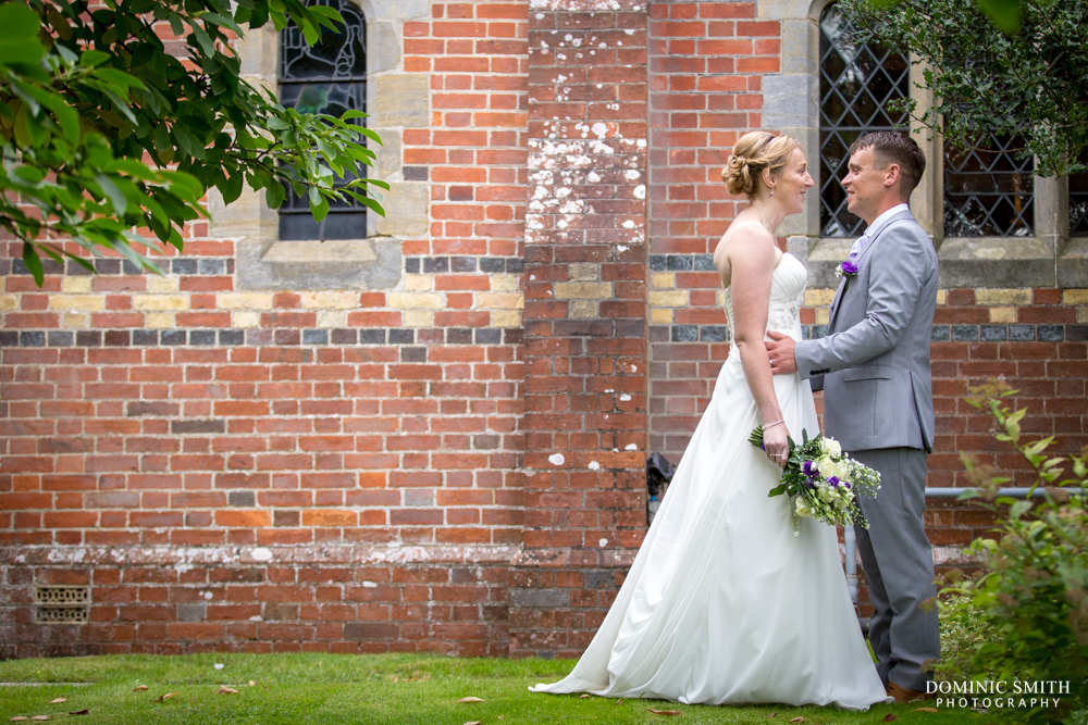 Couple photo at St Augustines Church