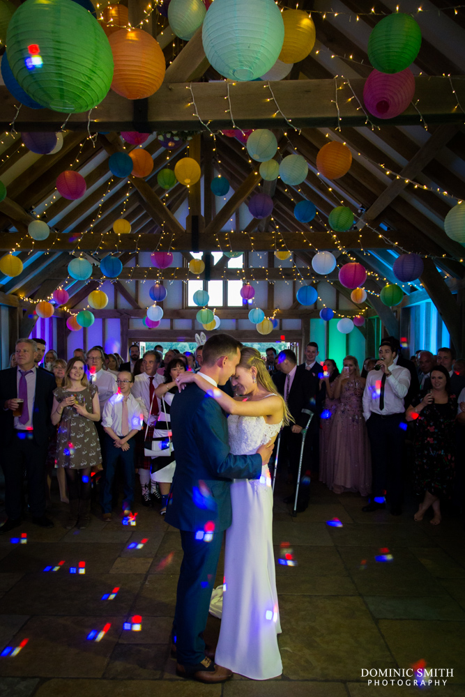 First Dance at Brookfield Barn 2