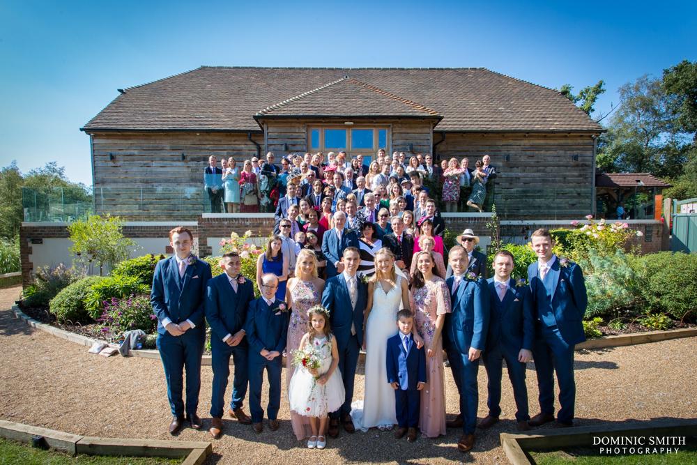 Group Photo at Brookfield Barn