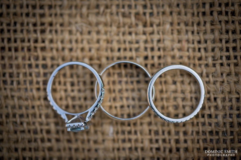 Wedding rings at Hookhouse Farm