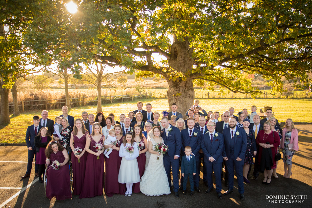 Group photo at Hickstead Hotel