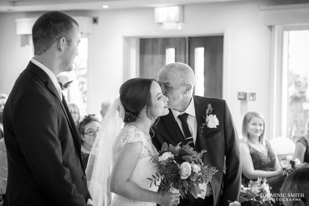 Wedding ceremony at Hickstead Hotel 2