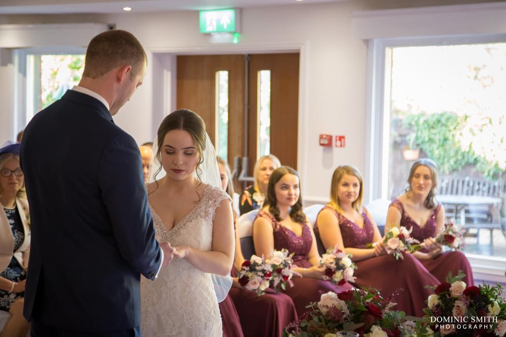 Wedding ceremony at Hickstead Hotel 3