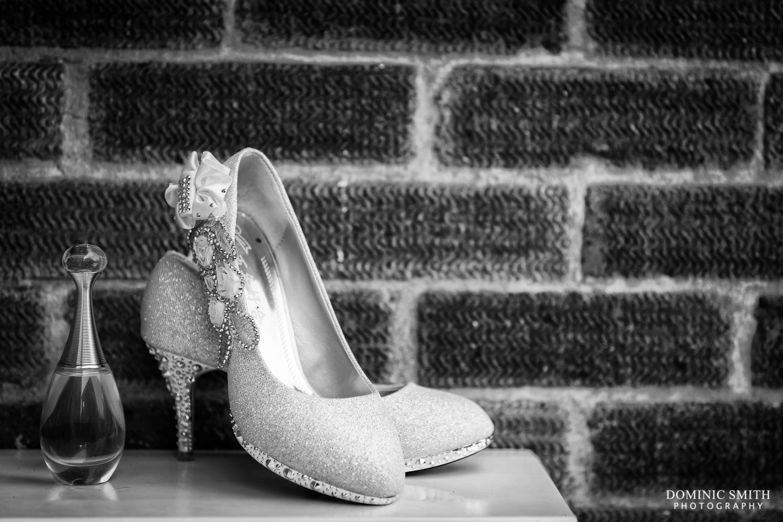 Bridal Shoes and Perfume