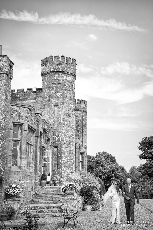 Bride at Wadhurst Castle Wedding