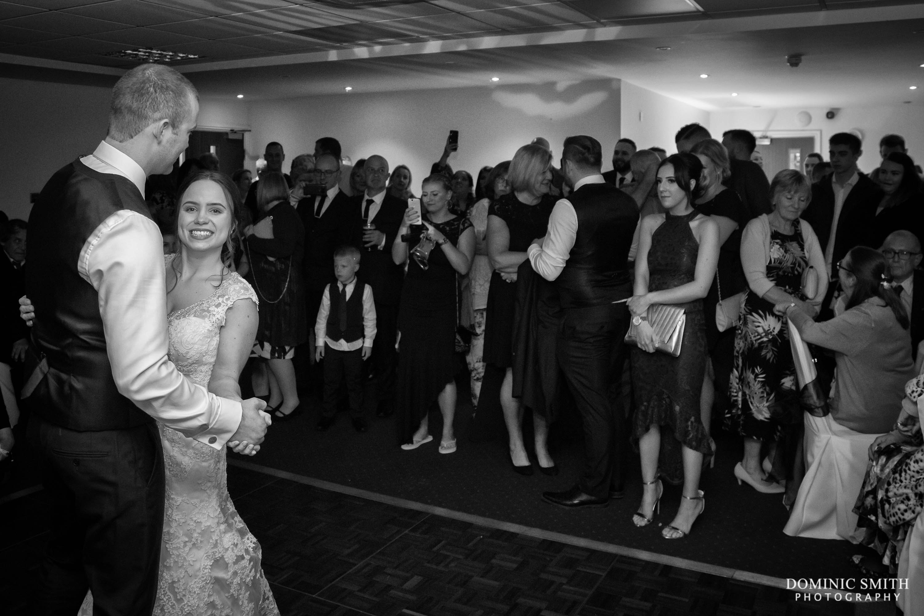 First Dance at the Hickstead Hotel