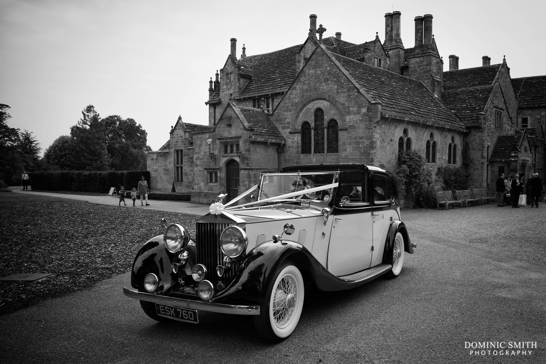 Vintage Wedding Car at Wakehurst Place