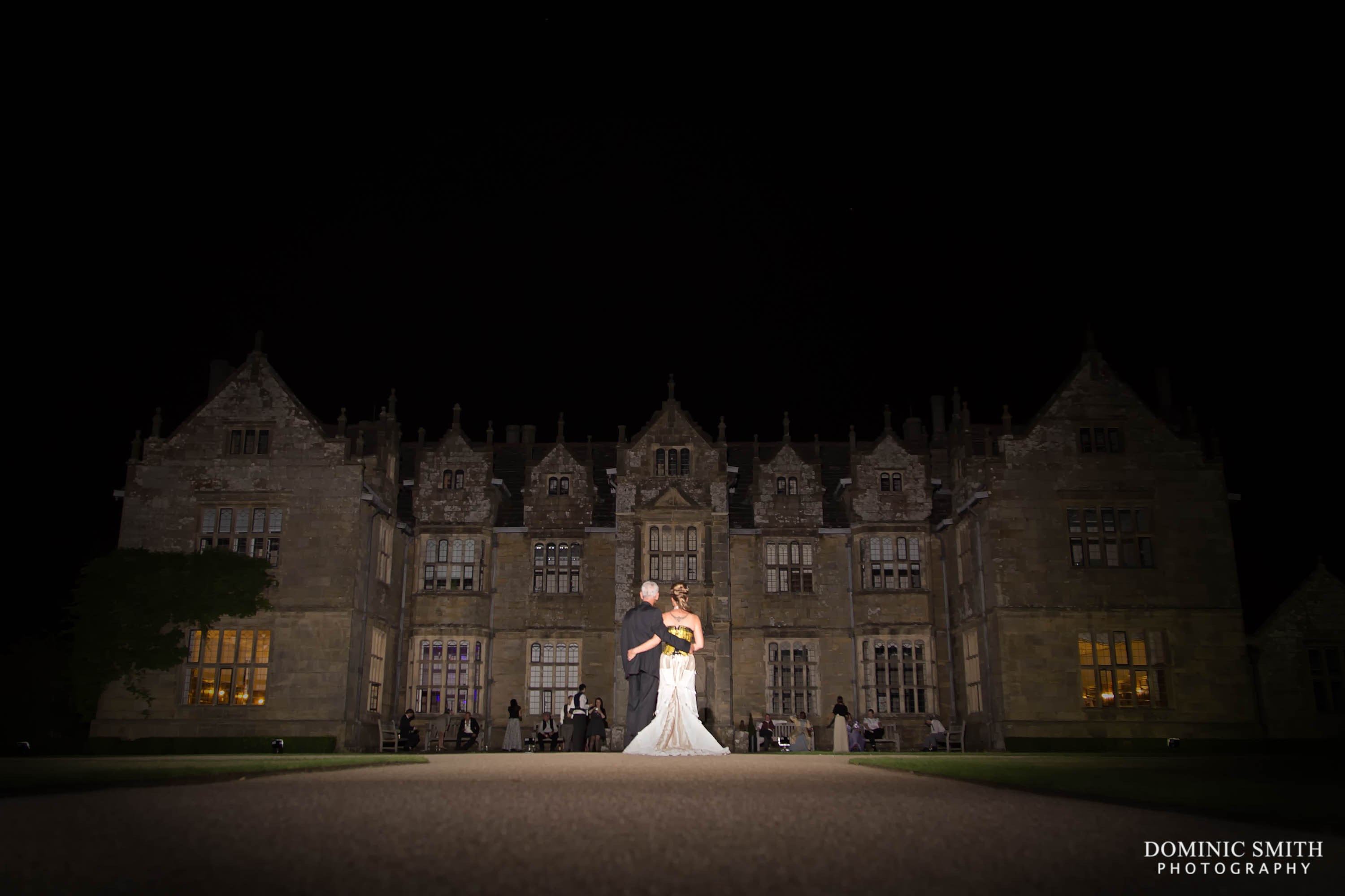 Wakehurst Place Wedding Night Photo