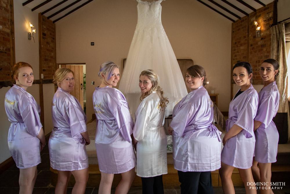 Bridal Prep at Rivervale Barn
