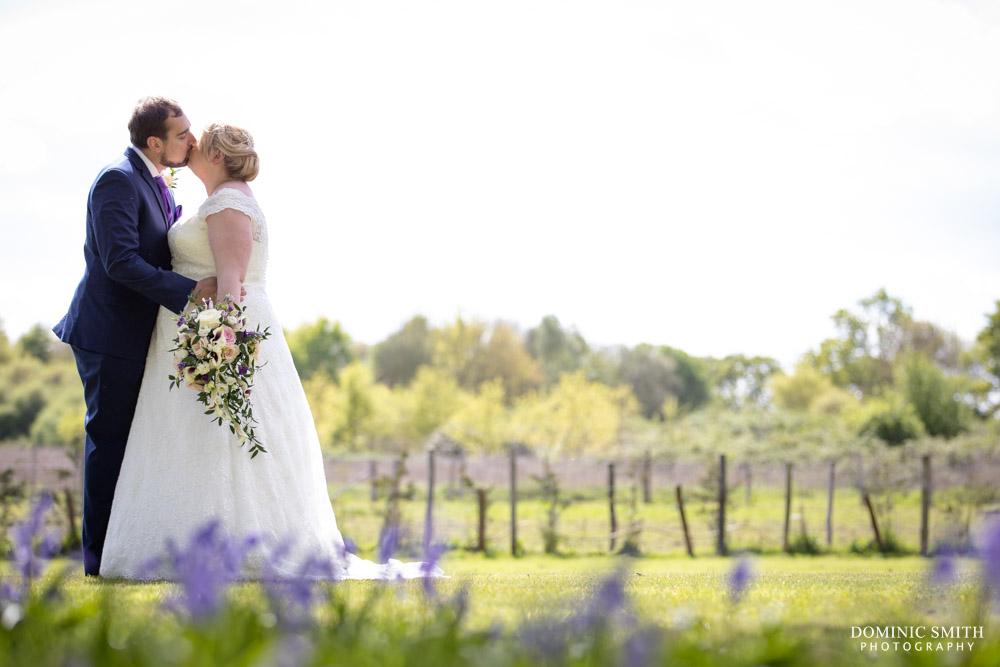 Wedding Couple photo at Hickstead Hotel 2