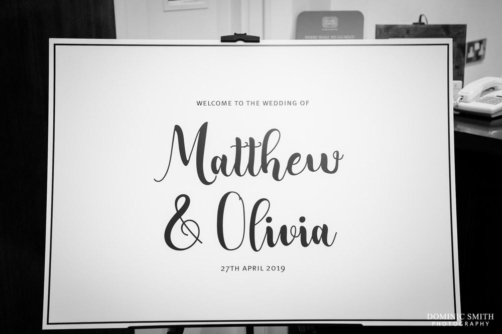 Wedding of Matt and Olivia