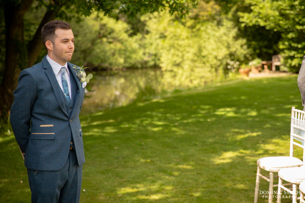 Nervous Groom at Smallfield Place