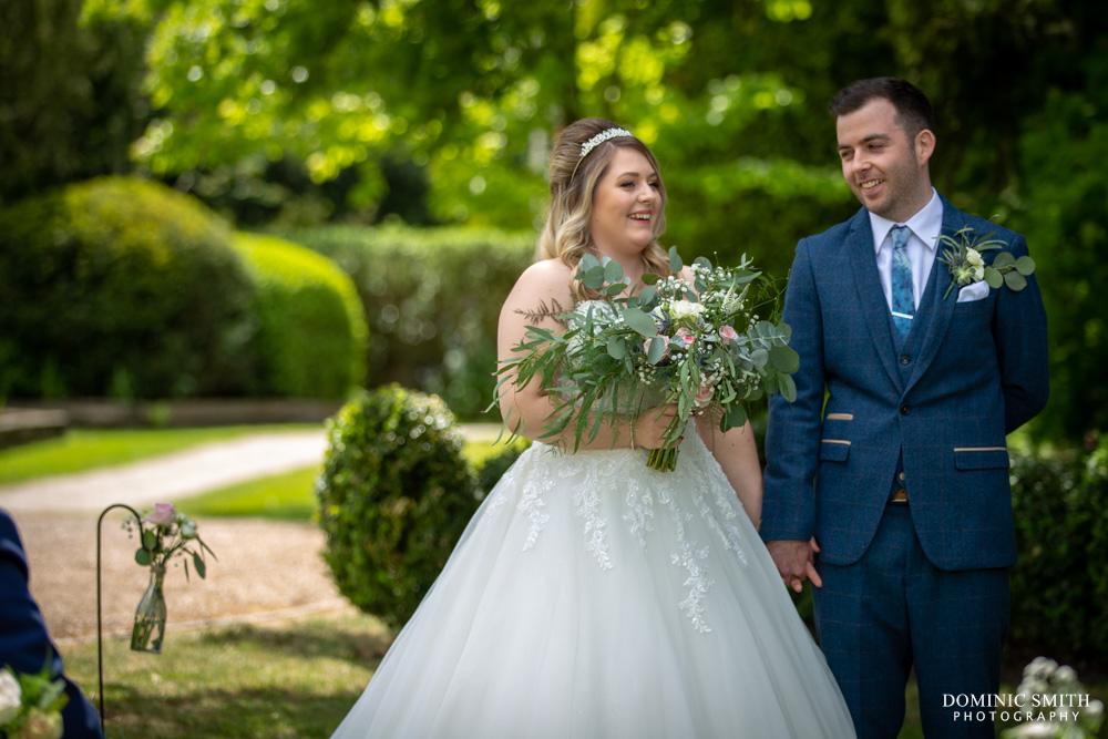 Wedding Ceremony at Smallfield Place 1