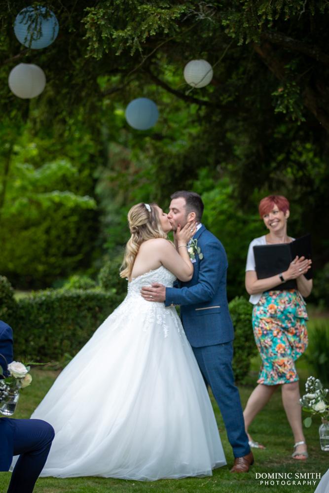 Wedding Ceremony at Smallfield Place 2