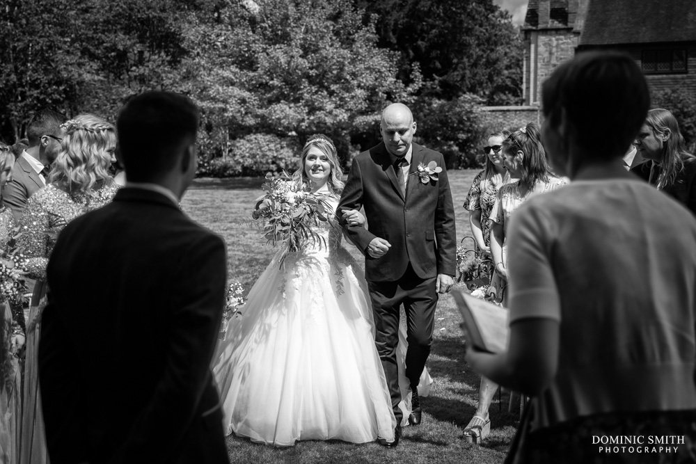 Wedding Ceremony at Smallfield Place 3