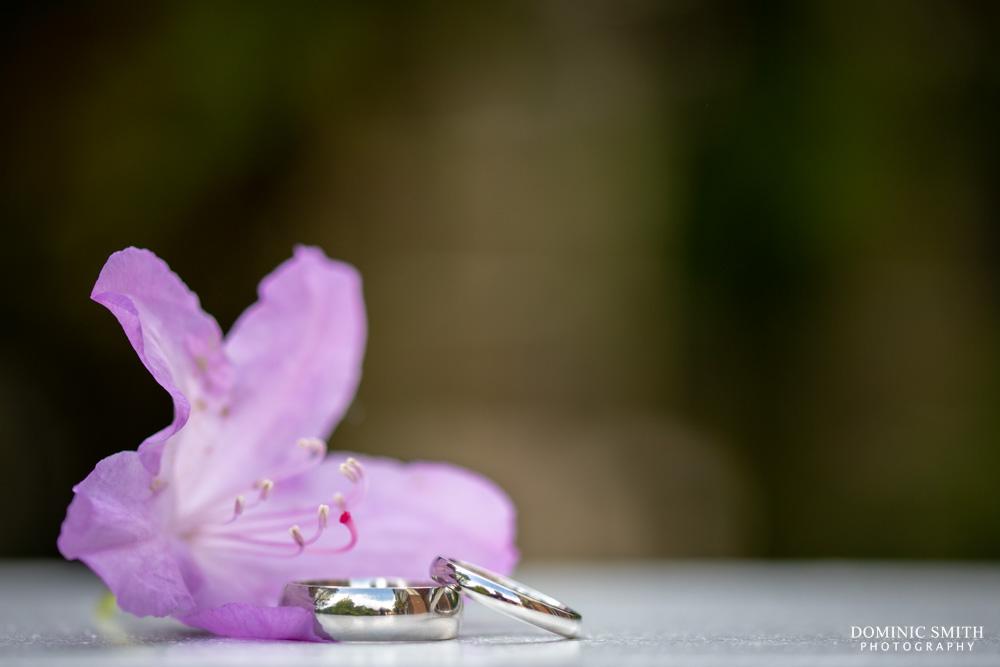 Wedding Rings Taken at The Ravenswood