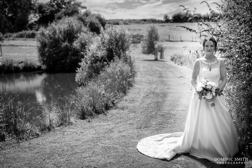 Bridal Portrait at Blackstock Country Estate