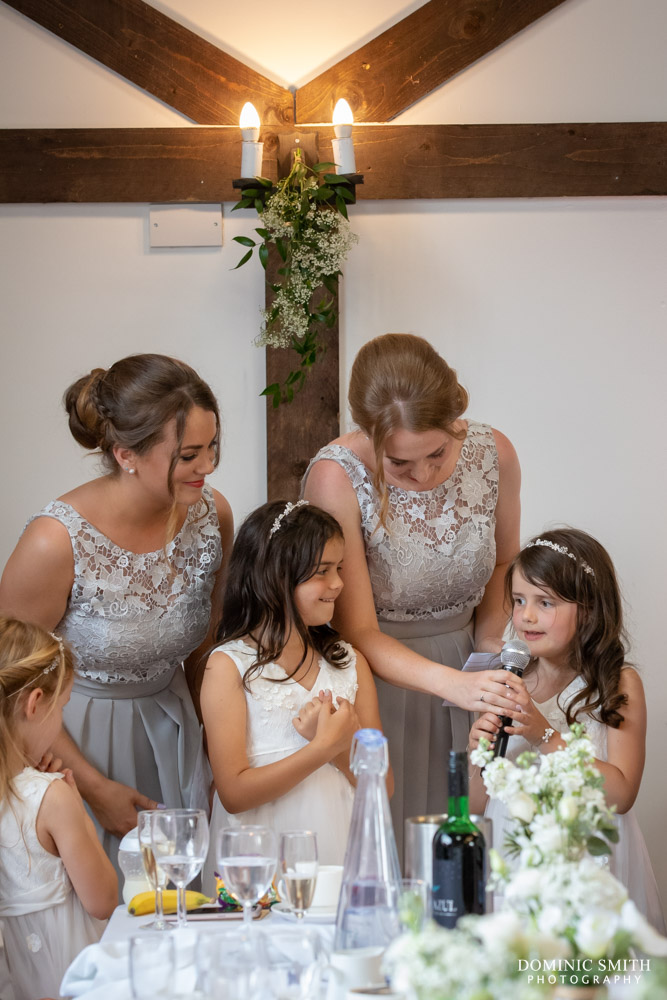 Bridesmaids Speech at Blackstock Country Estate