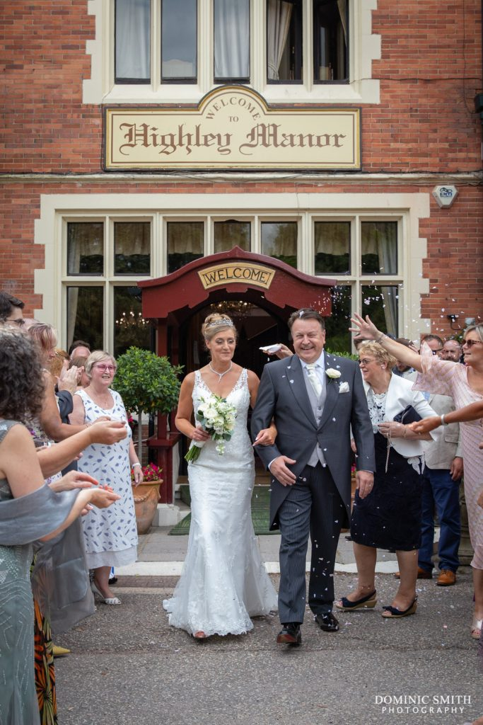 Confetti at Highley Manor