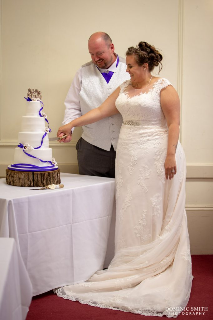 Cutting the Cake at Nutfield Lodge