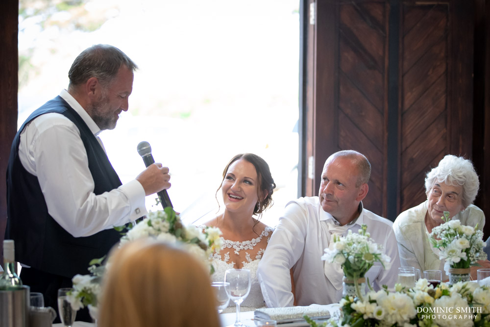 Father of the Bride speech at Blackstock Country Estate