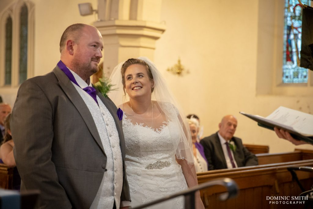 Wedding Ceremony at St Katherines, Merstham 2