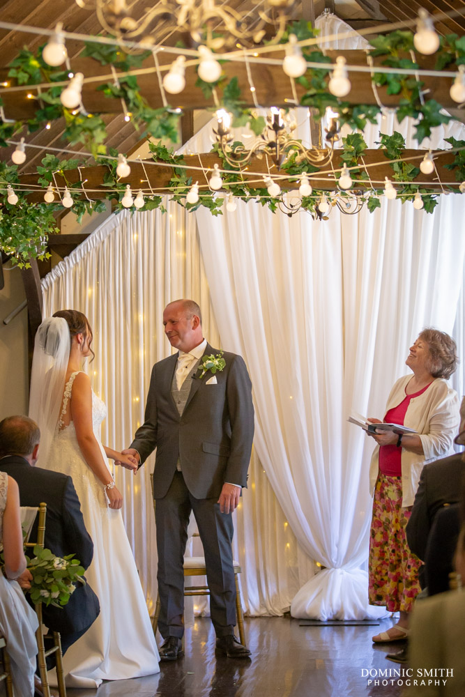 Wedding Ceremony at Blackstock Country Estate