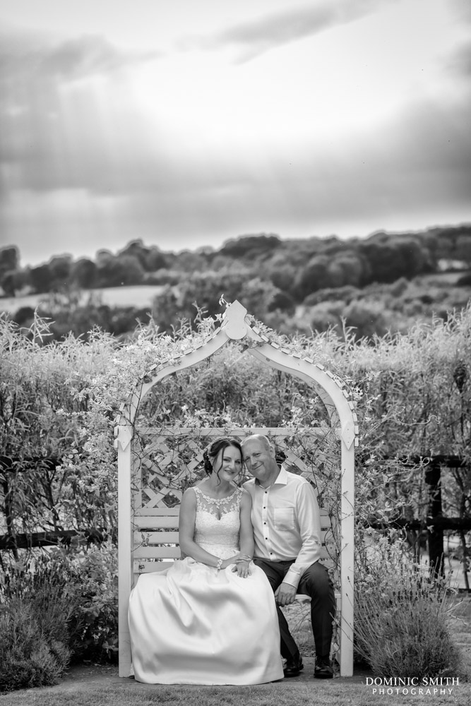 Wedding Couple Photo at Blackstock Country Estate 2