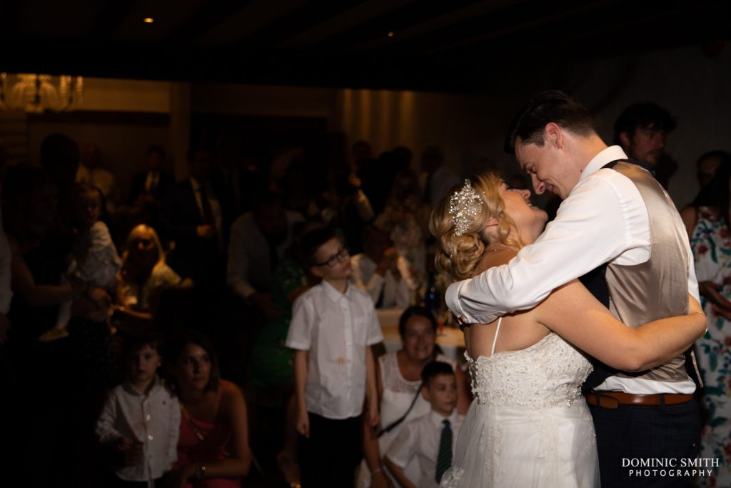 First Dance at Langshott Manor 2