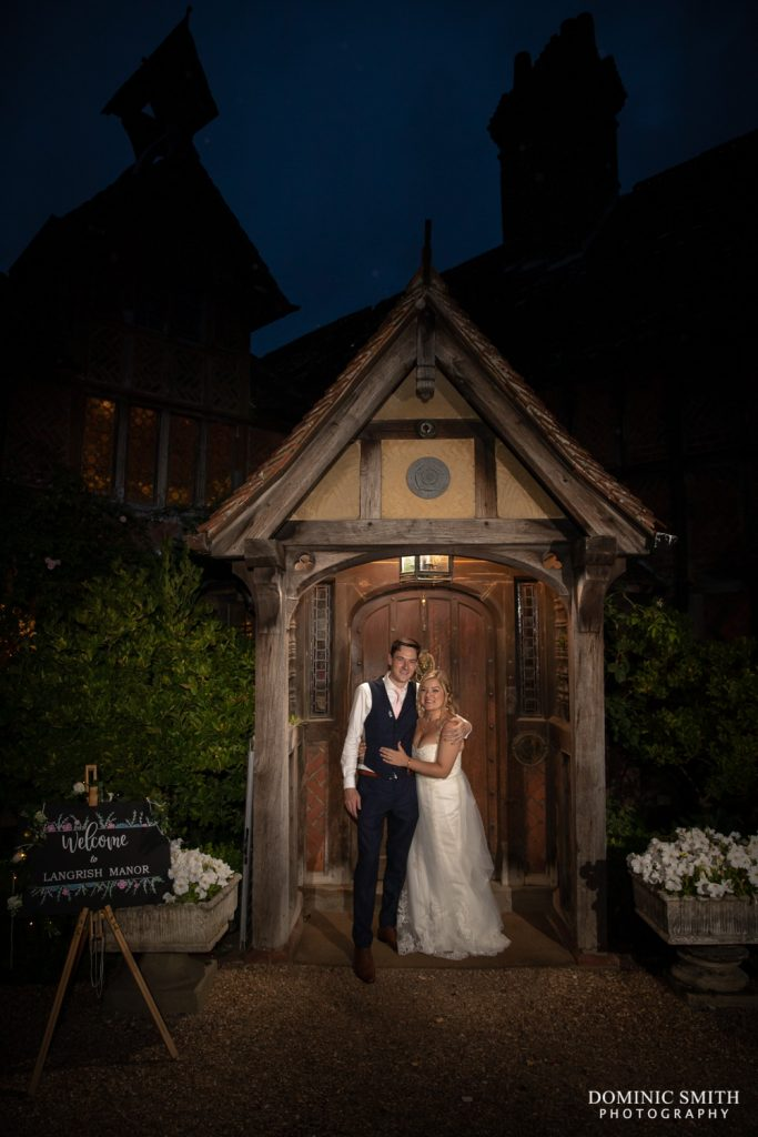 Night Photo at Langshott Manor