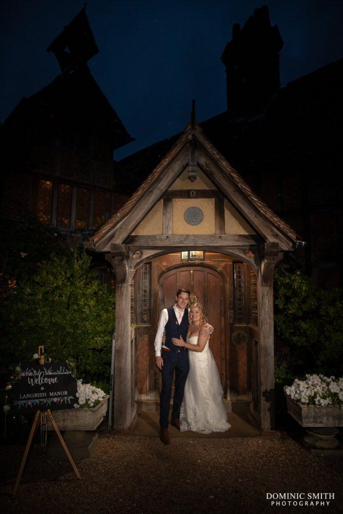 Night Photo at Langshott Manor
