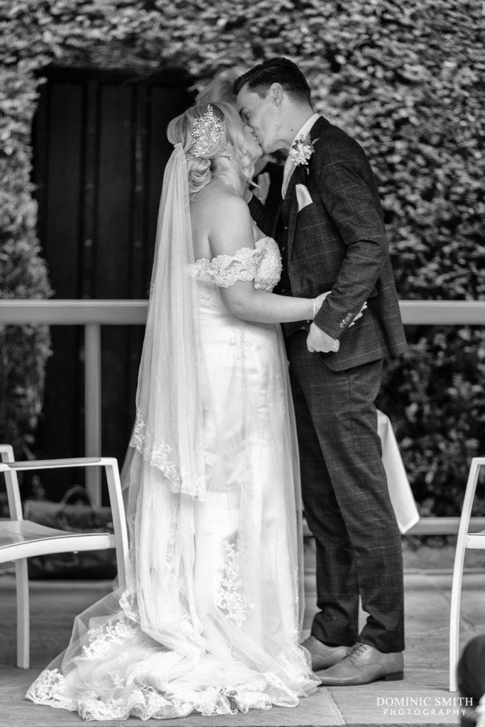 Wedding Ceremony 1 at Langshott Manor 2
