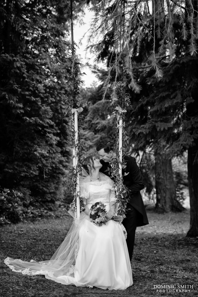Couple Photo at Highley Manor Swing