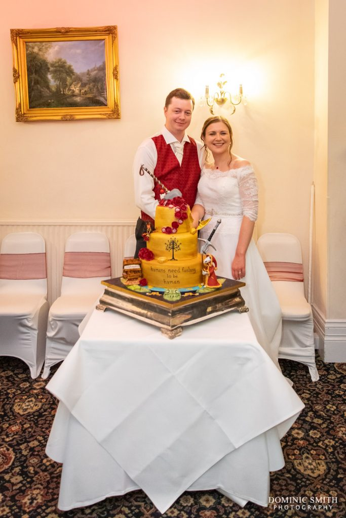 Cutting the Cake at Highley Manor